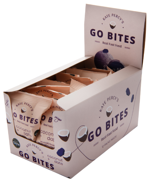 Kate Percy's GoBites Coconut & Date x 12